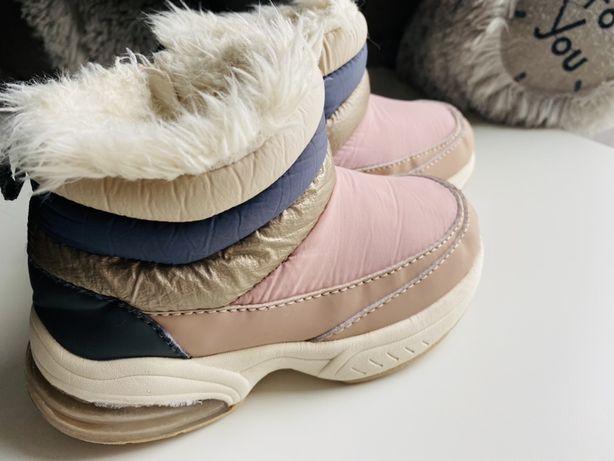 Зимние ботинки Zara