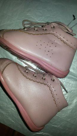 Ботинки для девочки.Ботинки кожаные, детские,ортопед.19 размера,