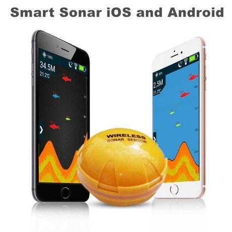 Эхолот для Android и iOs SMART беспроводной fishfinder XF-06
