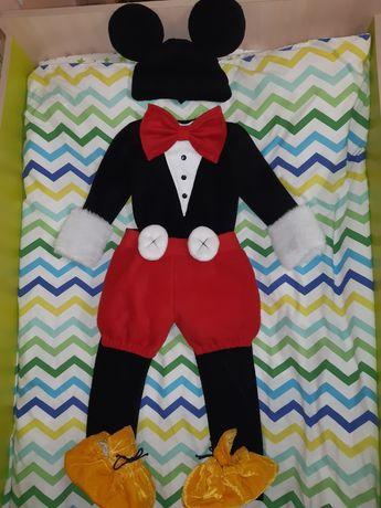 Карнавальный костюм для утренника мышонок мышка Микки Маус / Мики