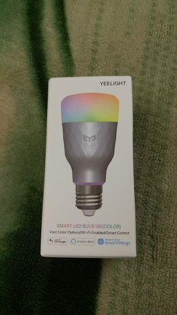 Xiaomi Mijia Yeelight 1SE E27 6W RGBW Smart LED Bulb лед умная лампа