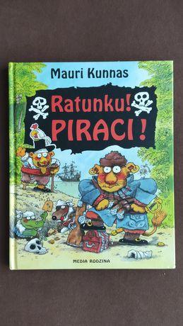Ratunku piraci książka Kunnas