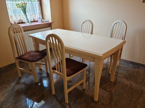 stół 160 x 80 solidny drewniany prowansalski do salonu kuchni jadalni
