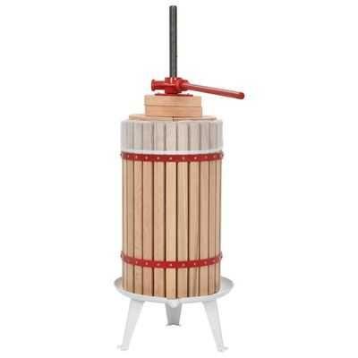 Prensa para fruta/vinho com saco de pano 30 L carvalho *Enviio Grátis*