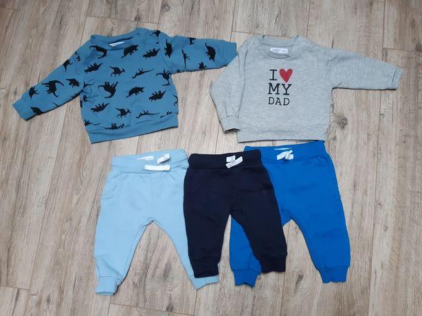 Bluzy plus spodnie Sinsay 62/68 Super stan