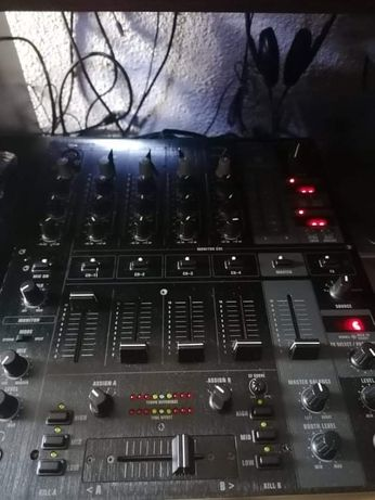 Mesa de mistura de som
