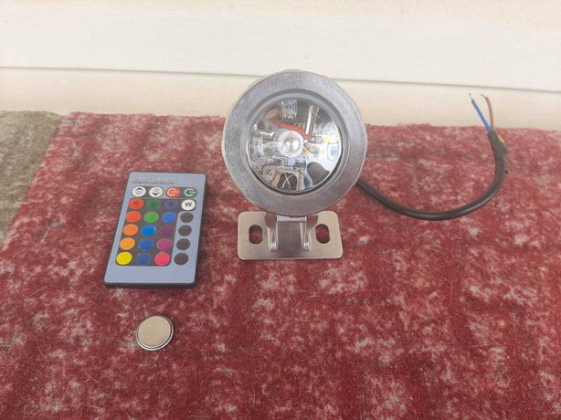 Светильник AQUAXER Led Color 220 В. (двухцветный), НОВЫЙ!