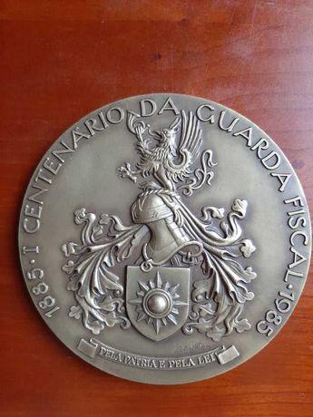 Medalha Centenário Guarda Fiscal 1985