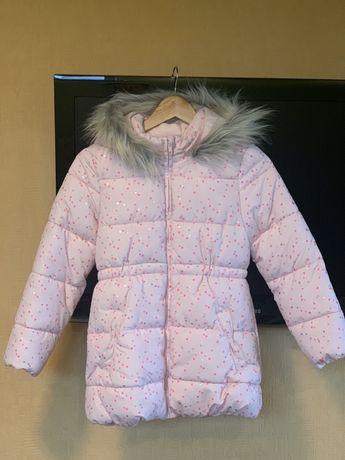 Красивая куртка H&M для девочки 9-10 лет