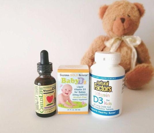 Детский Витамин Д3 Айхерб iHerb