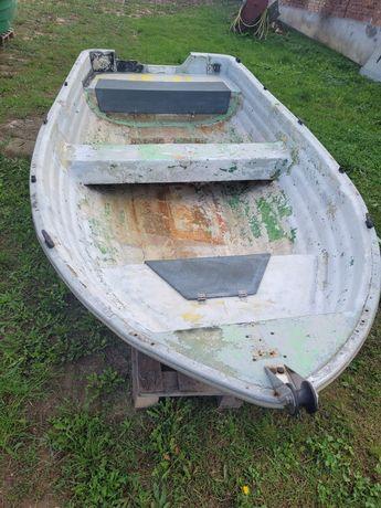 łódź wędkarska duża solidna