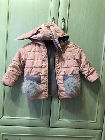 Куртка зайчик для девочки