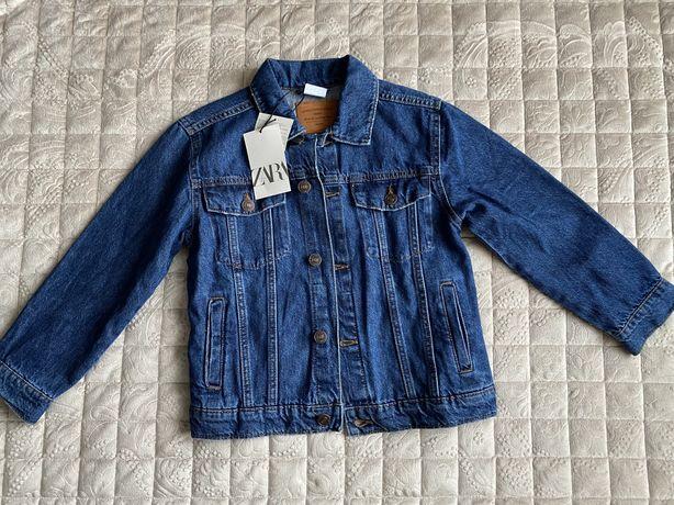 Джинсовая куртка Zara (8 лет, 128см)