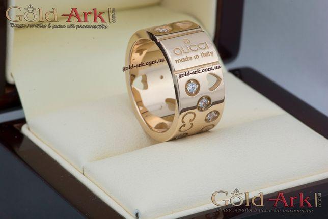 Золотое кольцо GUCCI