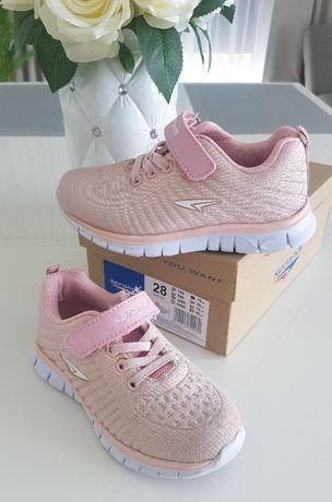 Sprandi buty sportowe 28 różowe dla dziewczynki