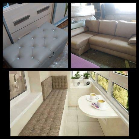 Изготовление,перетяжка, Реставрация Мягкой мебели