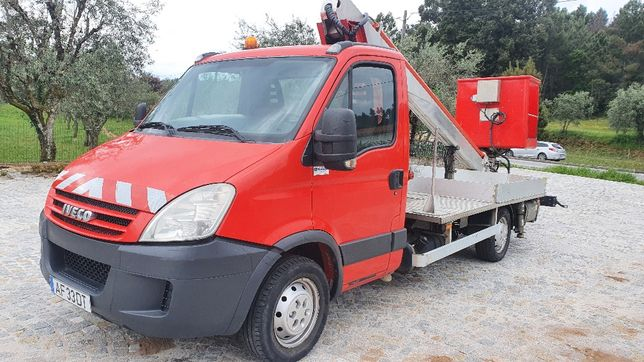 Barquinha IVECO 16 mtrs 2010
