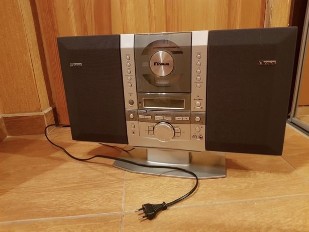 Музыкальный центр MINOWA. Рабочий! CD проигрыватель. Аудиосистема
