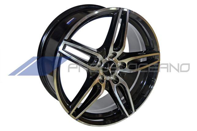 """Conjunto 4 Jantes 18"""" 5x112 Mercedes-Benz CLA (CJ1082)"""