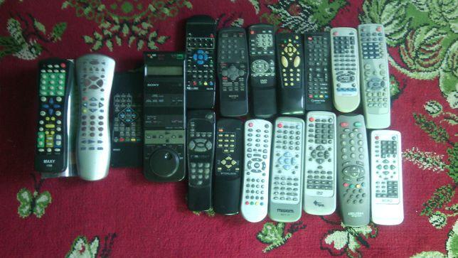 Piloty do telewizora TV, DVD, kodowania