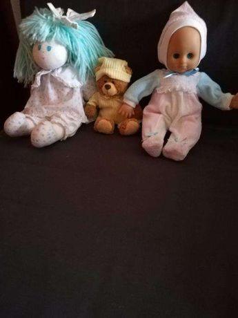 Conjunto de 3 bonecos