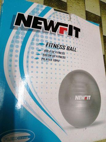 Bola Fitness Newfit marca Decathlon como nova