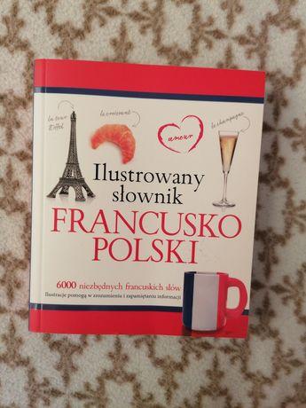 Ilustrowany słownik polsko-francuski