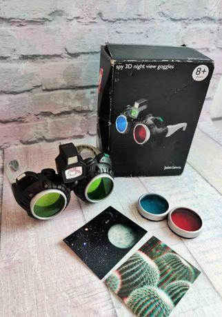 Крутые очки Spy 3D View 8 лет, состояние новых