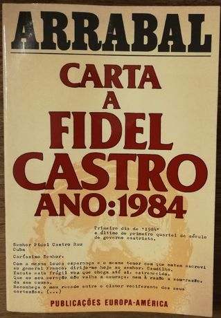 arrabal, carta a fidel castro, ano:1984