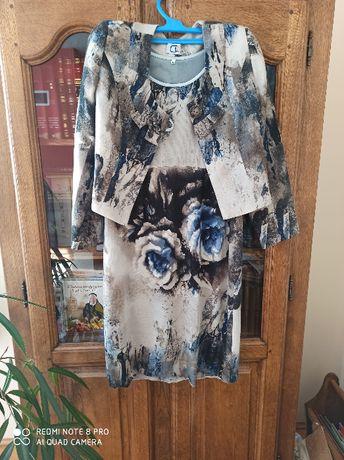 sukienka rozmiar 44 z żakietem