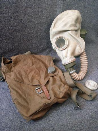 Wczesna maska przeciwgazowa SzM41-M OM-14 om14 słoń gazowa MO LWP OC