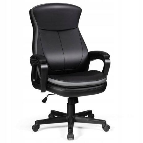 Fotel ergonomiczny biurowy podłokietnik