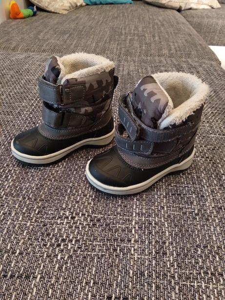 Buty kozaki śniegowce Lupilu 20