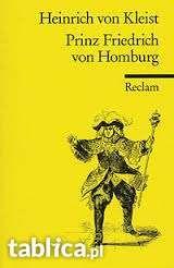 Literatura niemiecka Prinz Friedrich von HomburgHeinrich von Kleis