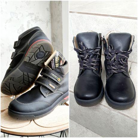 Сапоги ботинки, зимние, весна осень. 40, 39, 38 р. Натуральная кожа.