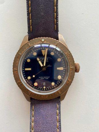 Relógio Oris Carl Brashear - Edição limitada e numerada