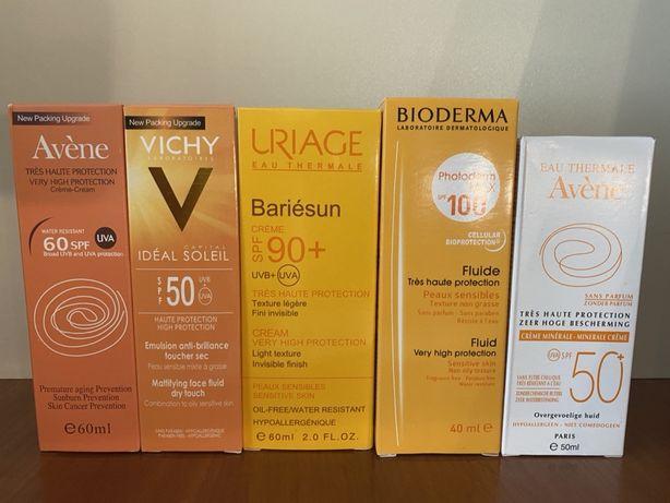 Солнцезащитный крем Vichy,Avene,Bioderma,Uriaqe