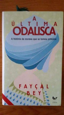 livro A última Odalisca de Faiçal Bey