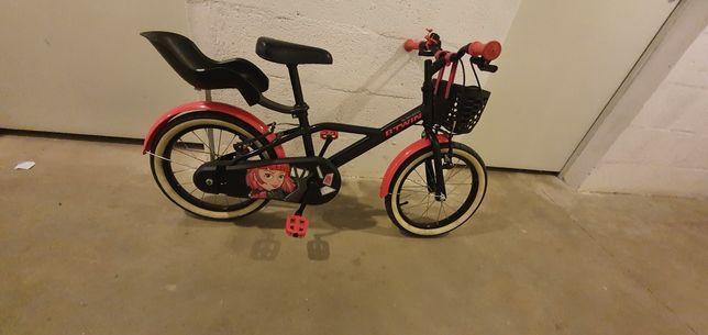 Bicicleta menina Btwin 16