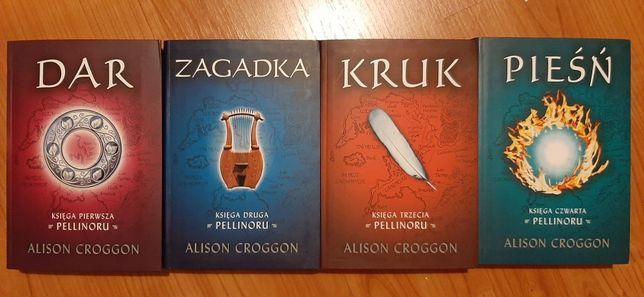 Książki/Książka Alison Croggon Cykl Pellinor Dar, Zagadka, Kruk, Pieśń