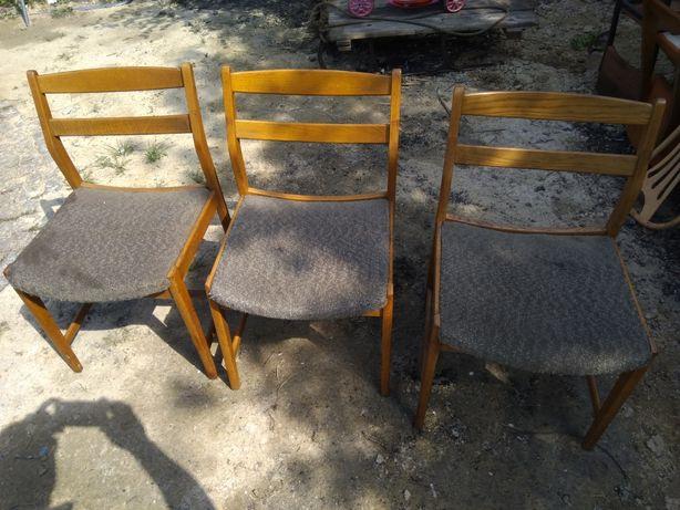 Krzesła prl stan bardzo dobry