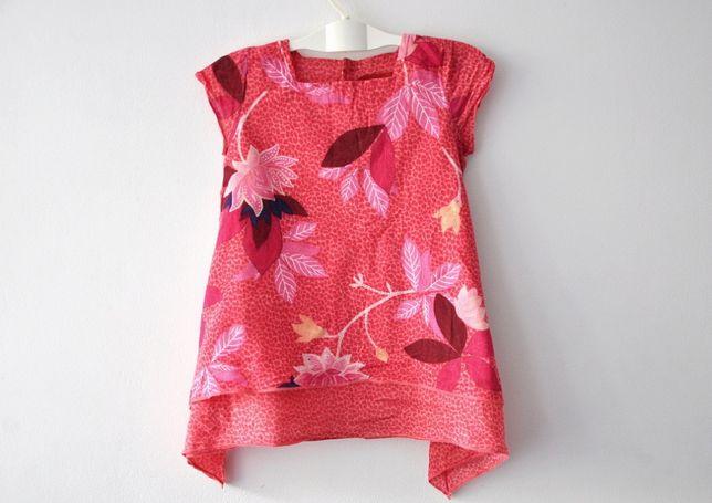 KENZO Jungle letnia sukienka tunika 68cm 6m %%%