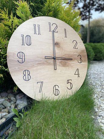 zegar scienny recznie robiony