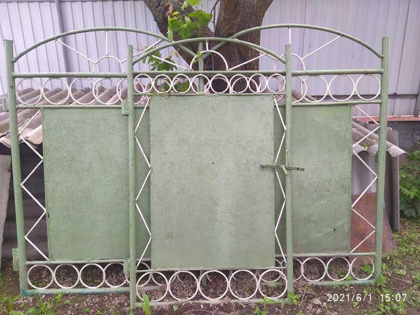Ворота з фірткою