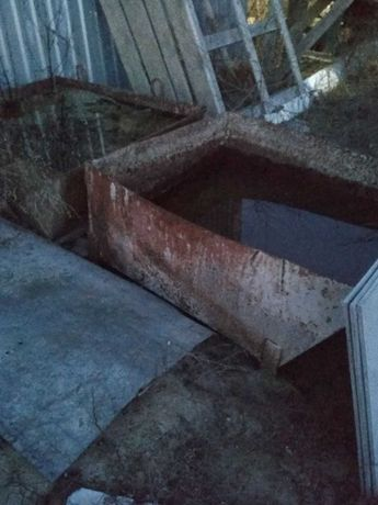 Бадья - чан /кастра строительный