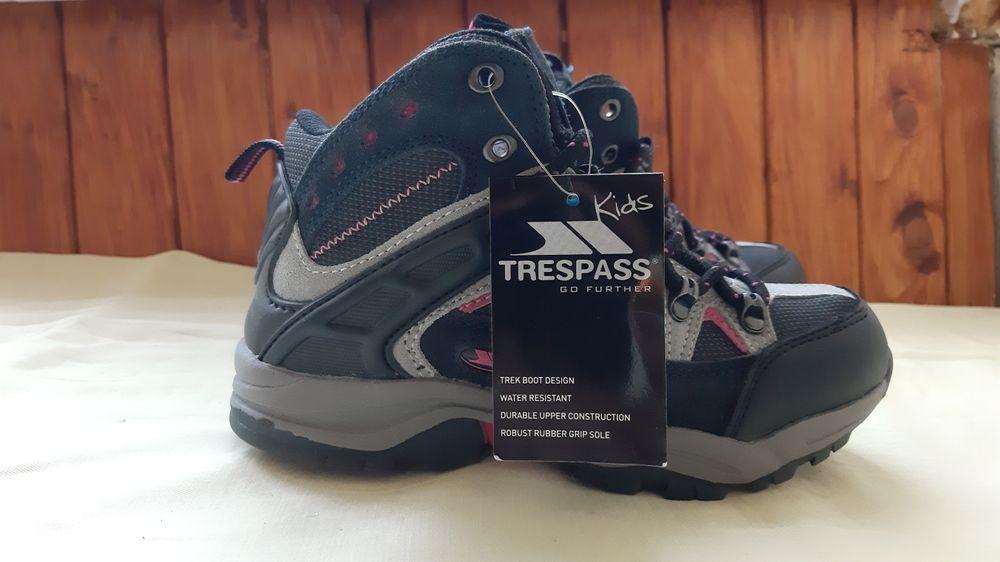 Демисизонные водонепроницаемые  ботинки Trespass 32-33р. Днепр - изображение 1