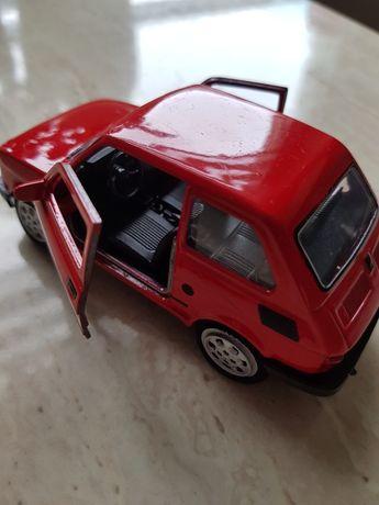 Samochodzik Fiat 126P miniaturka