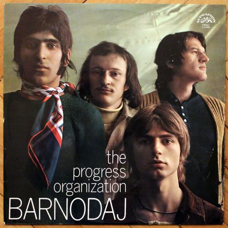 THE PROGRESS ORGANIZATION ~ Barnodaj ~ 1973 Supraphon ~ LP winyl
