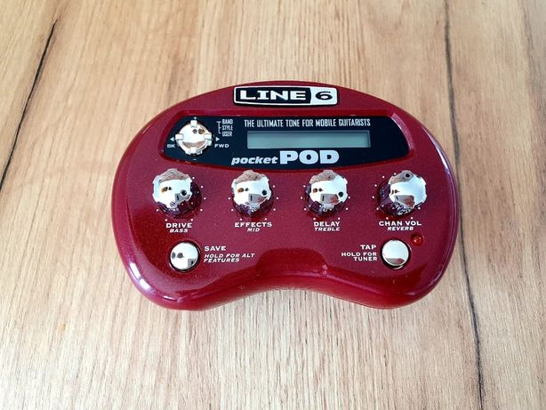 LINE6 Pocket POD - Multiefekt gitarowy