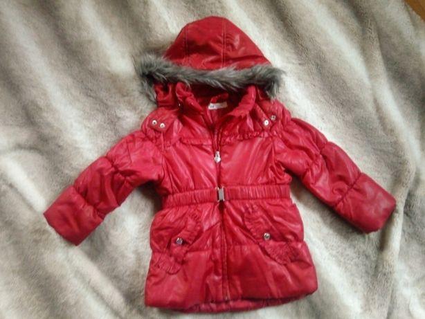 kurtka zimowa H&M dziewczynka 6-7 lat rozm 122